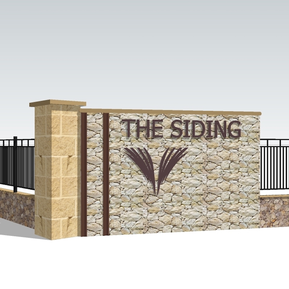 the siding-land-release-vasse-stone-entry-wall