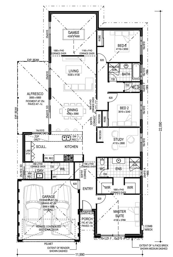 vasse-estate-house-and-land-Plunkett-Malibu-floor-Plan